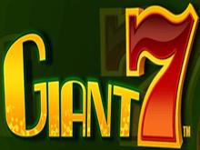 Игровой процесс в онлайн-казино на автомате Giant 7
