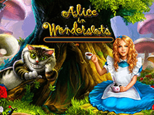 Играйте онлайн на деньги в Алиса В Стране Чудес