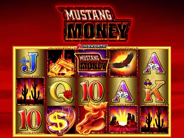 Игровой автомат Mustang Money